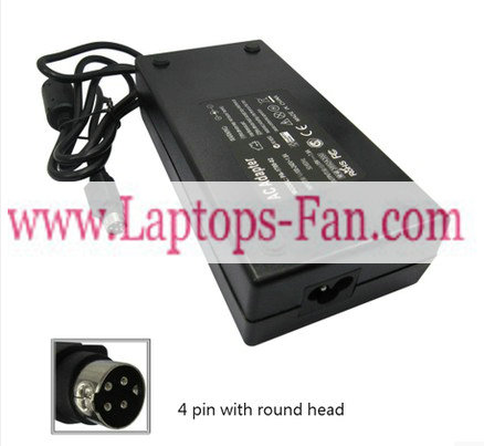 19V 7.9A Acer Aspire 1705SCi Laptop AC Adapter Charger 4 pin
