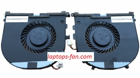 NEW Dell XPS15 9530 M3800 02PH36 0H98CT series CPU+GPU cooling Twins Fans
