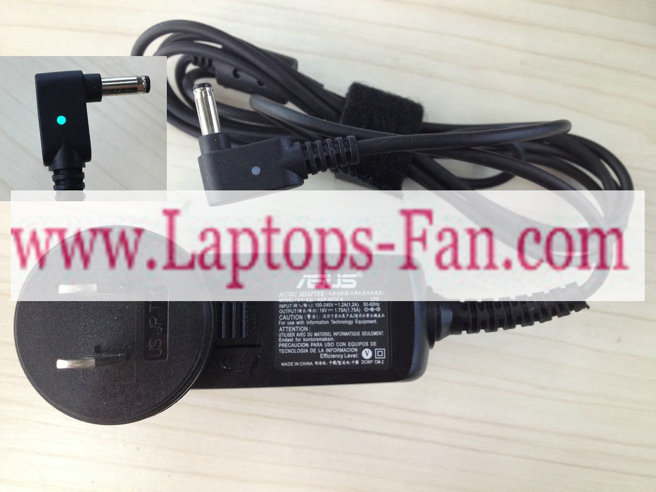 19V 1.75A 33W Asus VivoBook F201E laptop AC Adapter ADP-40TH A