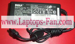 19V 2.64A Dell Latitude L400 LS Laptop AC Adapter flat 3-pins