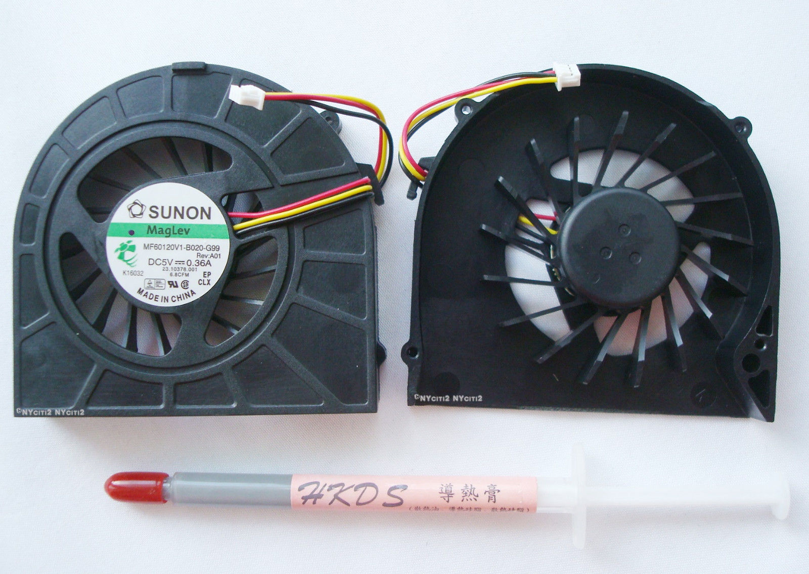 Brand New CPU Fan for Dell Inspiron P/N K28PW 9C29Y NC4TX (free thermal paste)