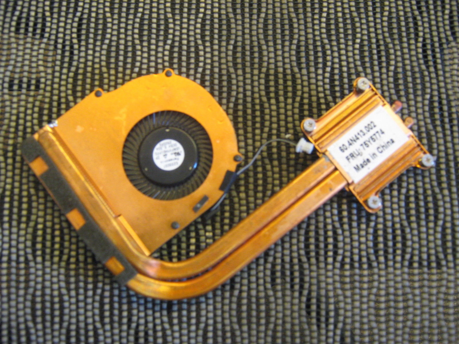 High quality IBM LENOVO UltraBook X1 Fan Heatsink 60.4N413.002 75Y5774