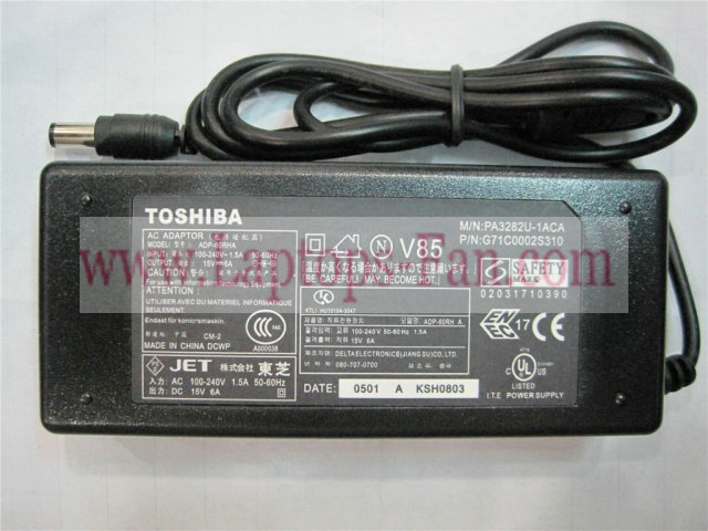 15V 6A 90W Toshiba G 71C 0002S310 G 71C 0002S110 AC Adapter