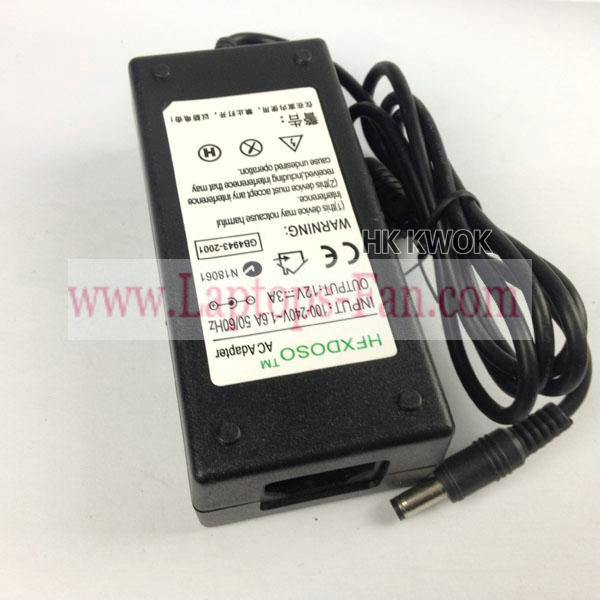 12V 3A Samsung 172B 172S 172T 180T LCD monitor AC Adapter