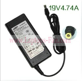 19V 4.74A Samsung NP-RV515 AC Adapter Power Supply charger