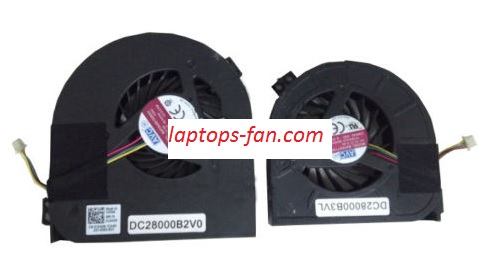 NEW Dell Precision M4700 M4800 00WGVF 02K3K7 CPU&GPU cooling Twins Fans