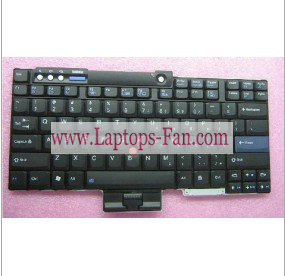 new Lenovo Thinkpad T61 laptop keyboard Black US