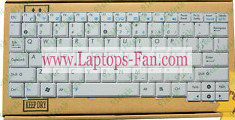 NEW Asus EEE PC EPC MK90H US White Keyboard