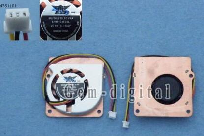 New CPU Cooling Fan EFWF-03F05L Heatsink EFWF-03F05L DC 5V