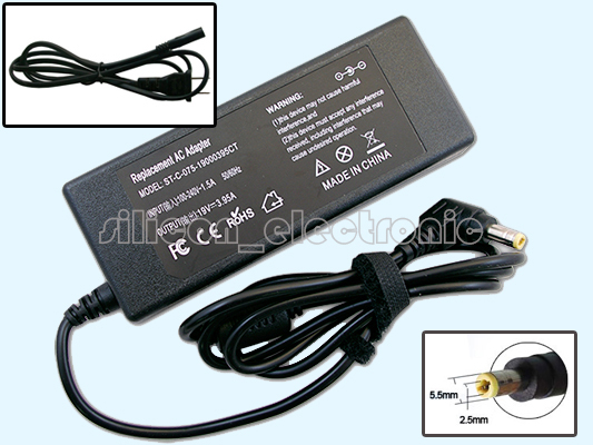 19V 3.95A AC Adapter For Toshiba Satellite Radius L15W-B1302 L15W-B1310