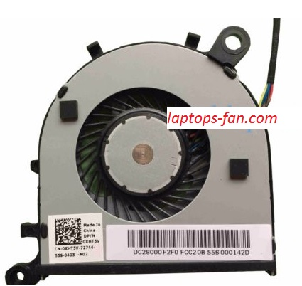 NEW Dell XPS 13 9350 9343 9360 0XHT5V DC28000F2F0 series cpu cooling fan