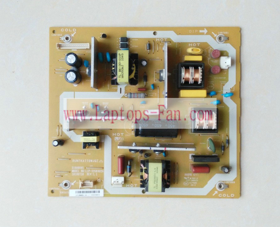 Genuine Sharp LCD-32N120A LCD-32L120A Power Supply Board RUNTKA7